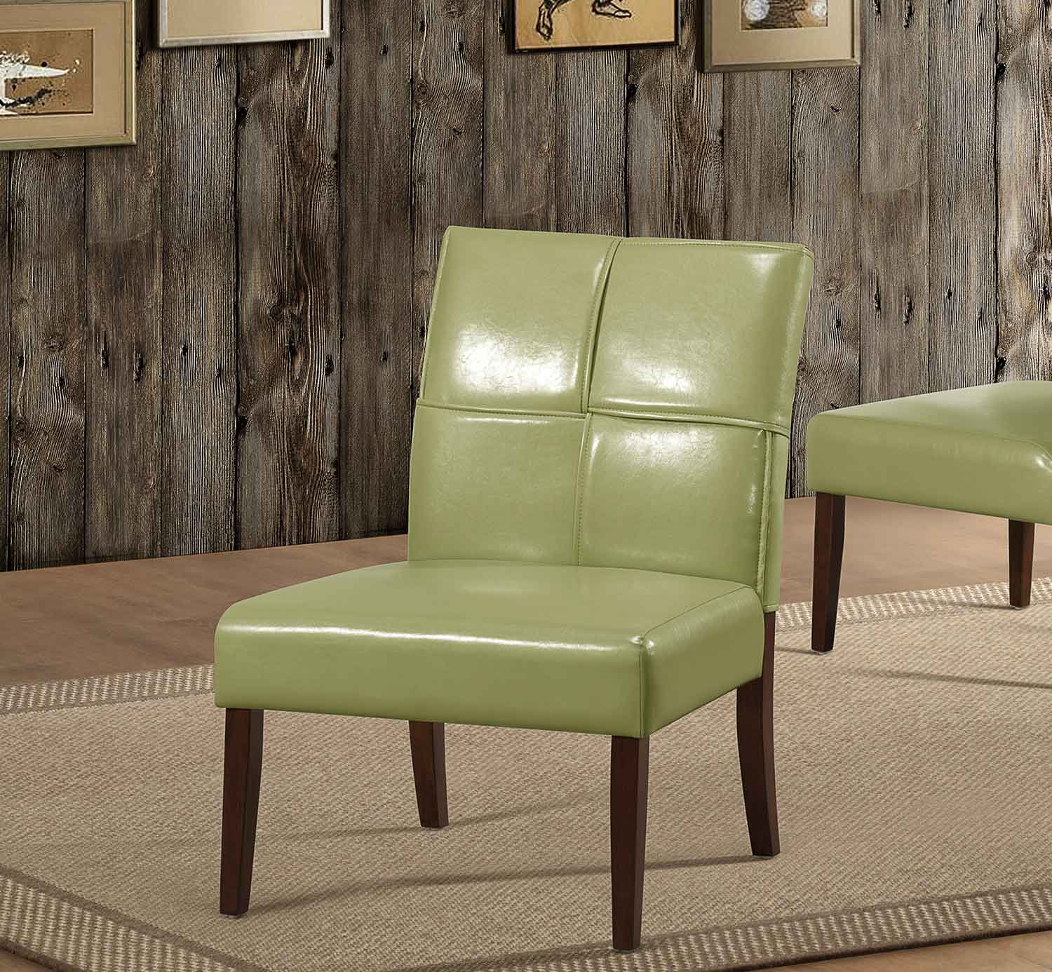 Homelegance Oriana Accent Chair - Green