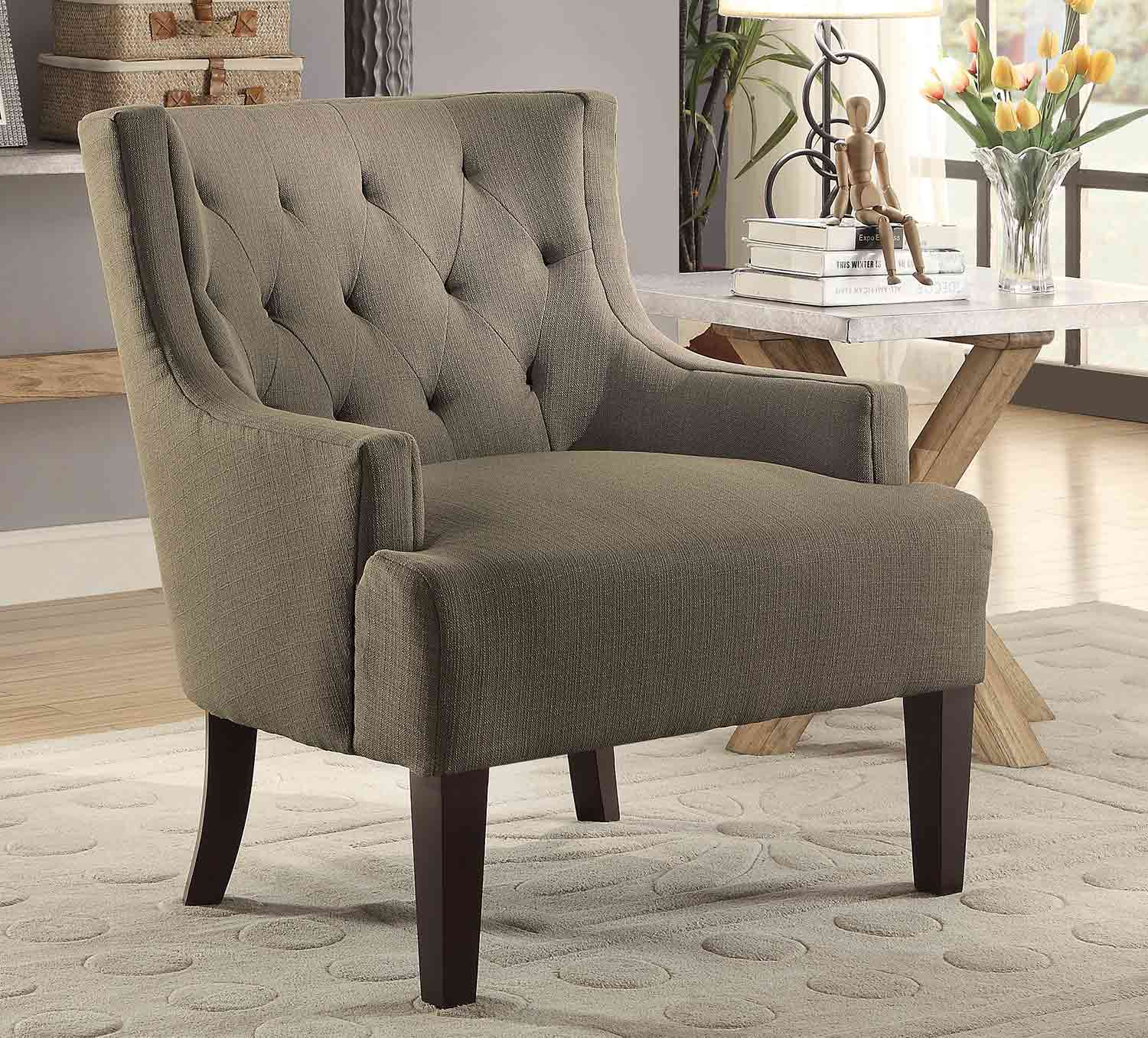Homelegance Dulce Accent Chair - Grey
