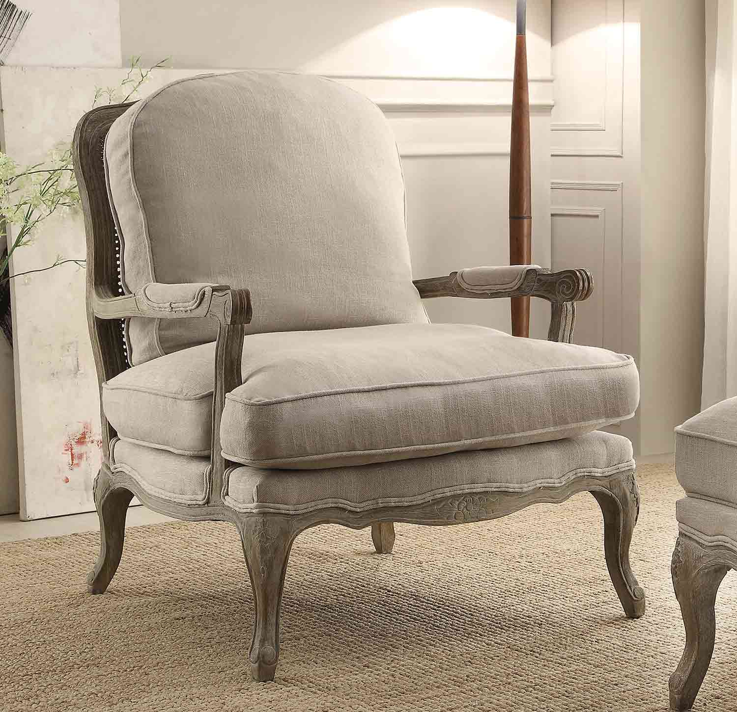Homelegance Parlier Accent Chair - Natural