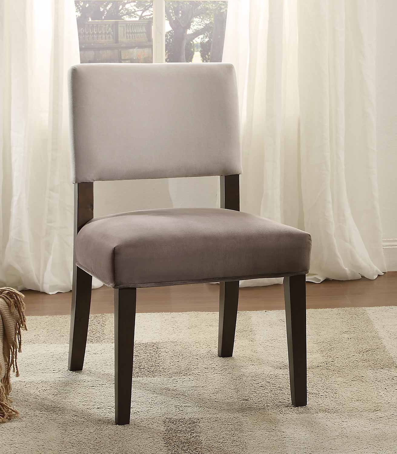 Homelegance Jacinta Two-Toned Accent Chair - Grey