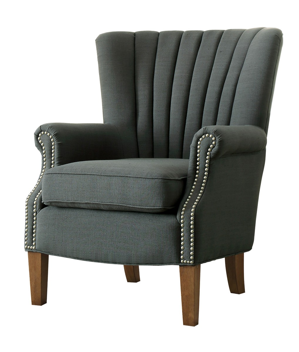 Homelegance Essex Accent Chair - Dark Grey