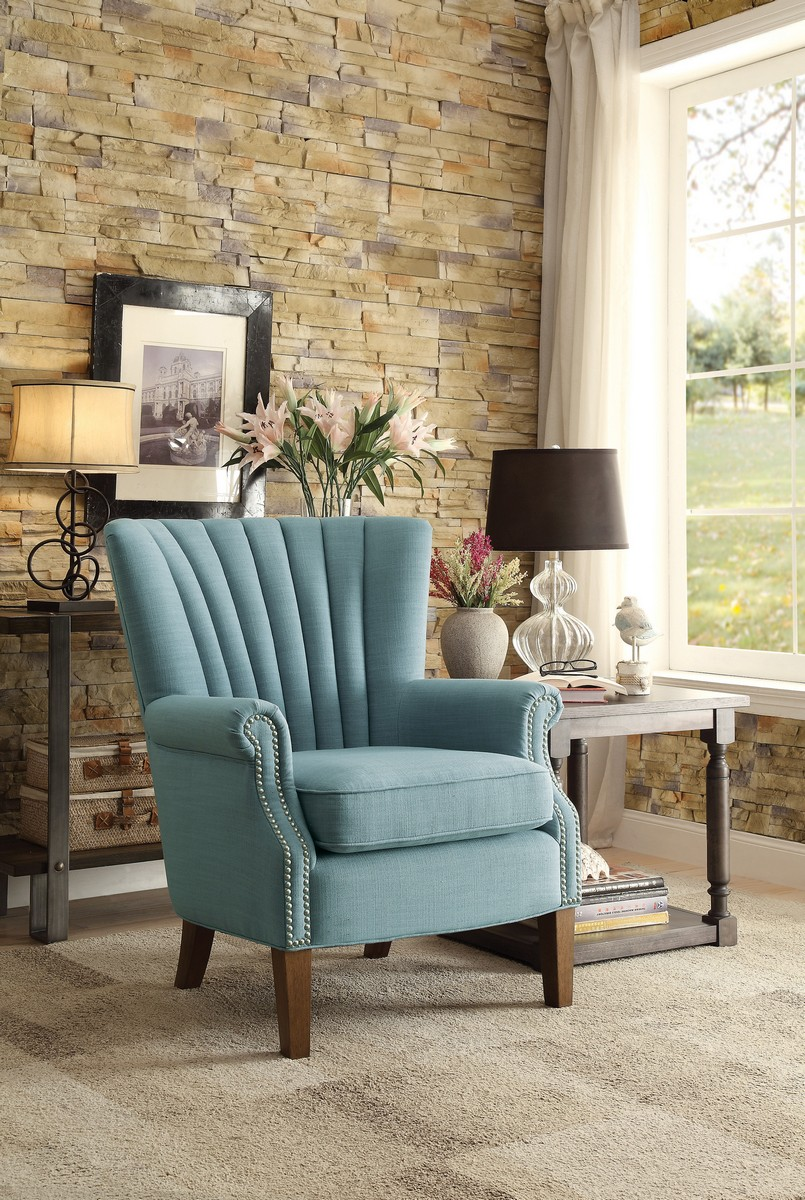 Homelegance Essex Accent Chair - Blue
