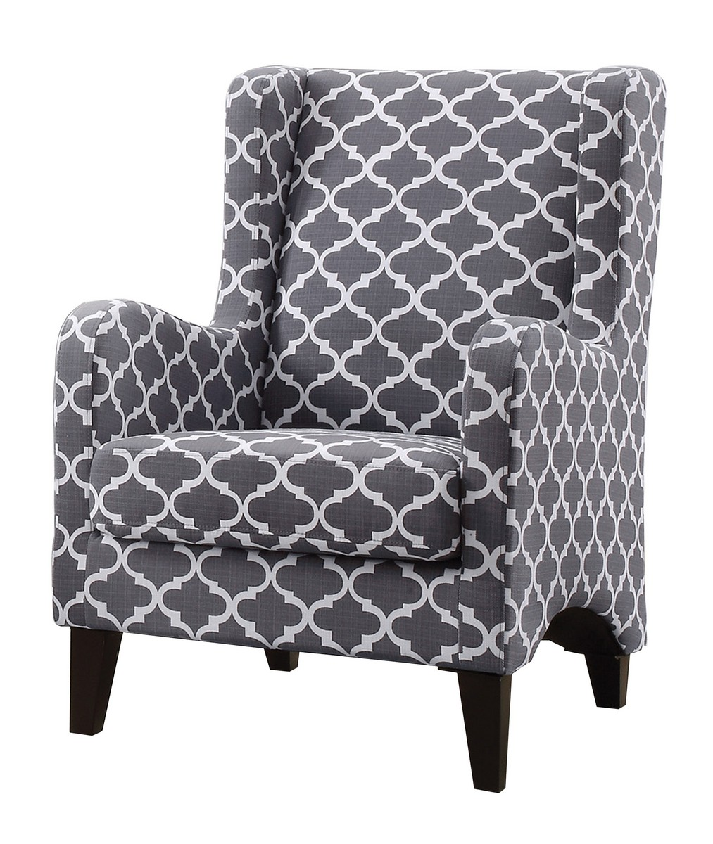 Homelegance Adlai Accent Chair - Grey