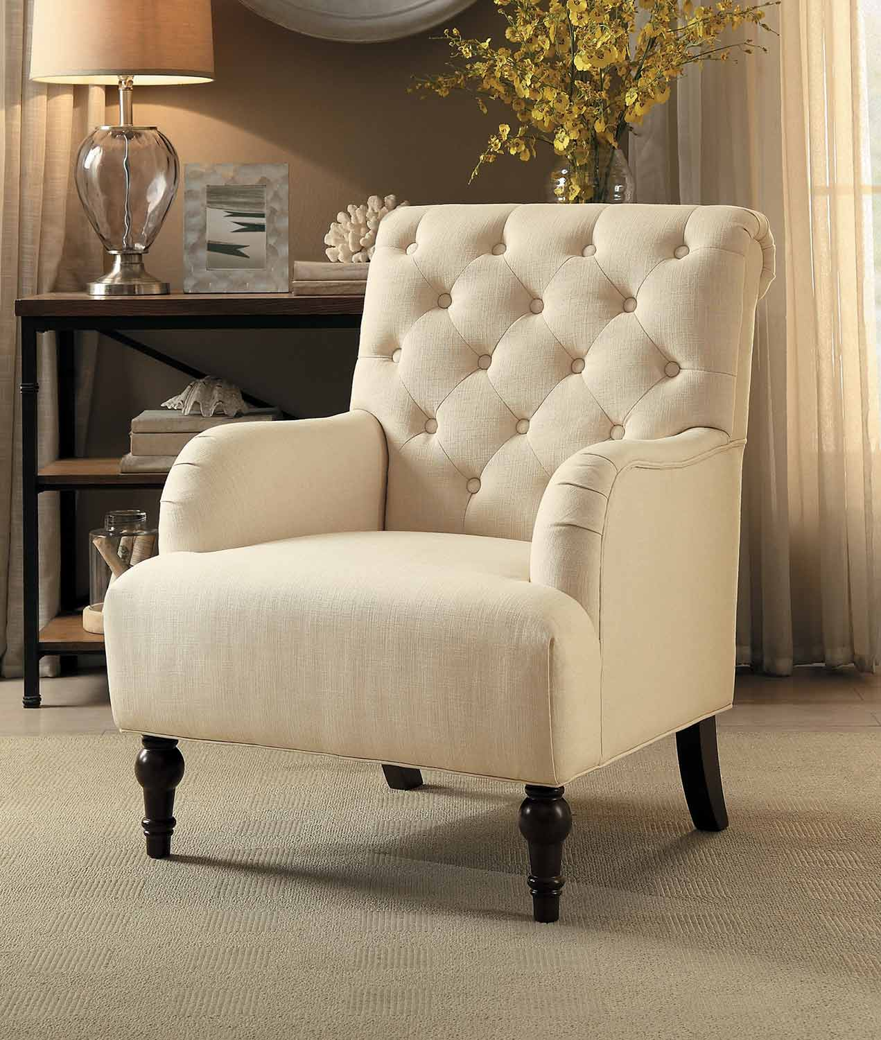Homelegance Cotswold Accent Chair - Beige