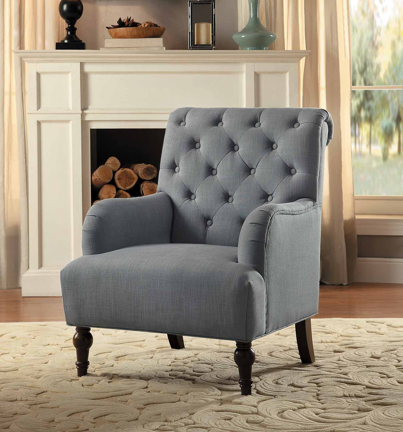 Homelegance Cotswold Accent Chair - Gray