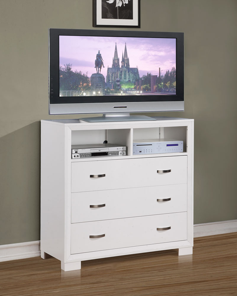 Homelegance Astrid TV Chest - White
