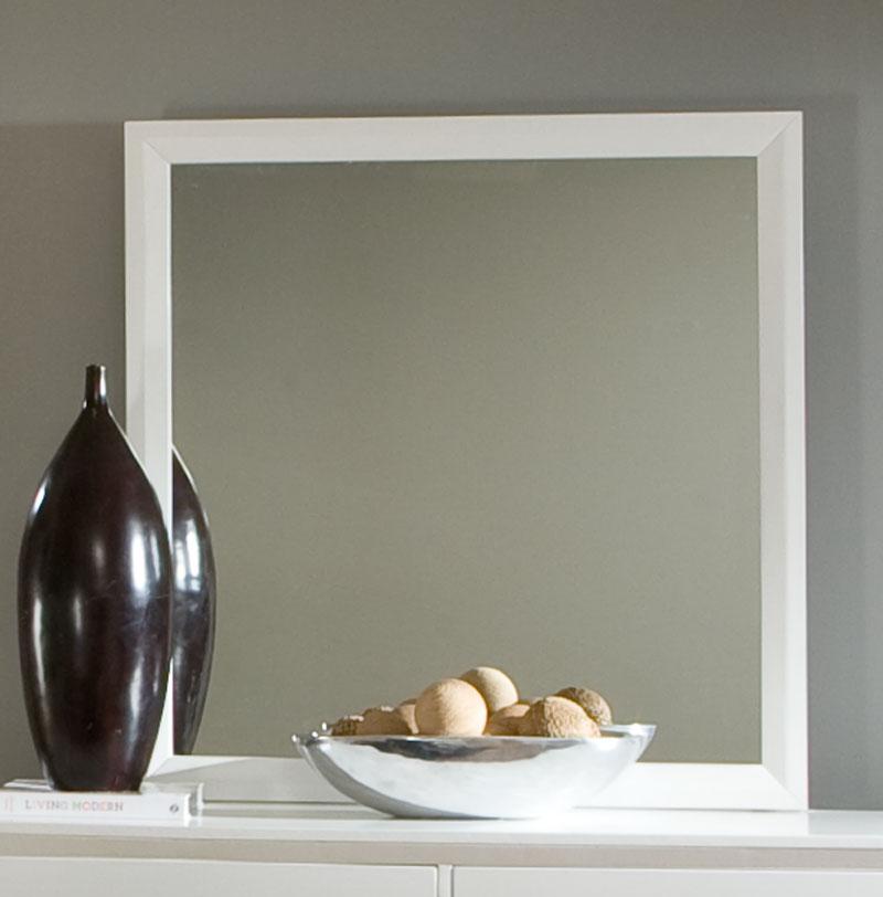 Homelegance Astrid Mirror - White