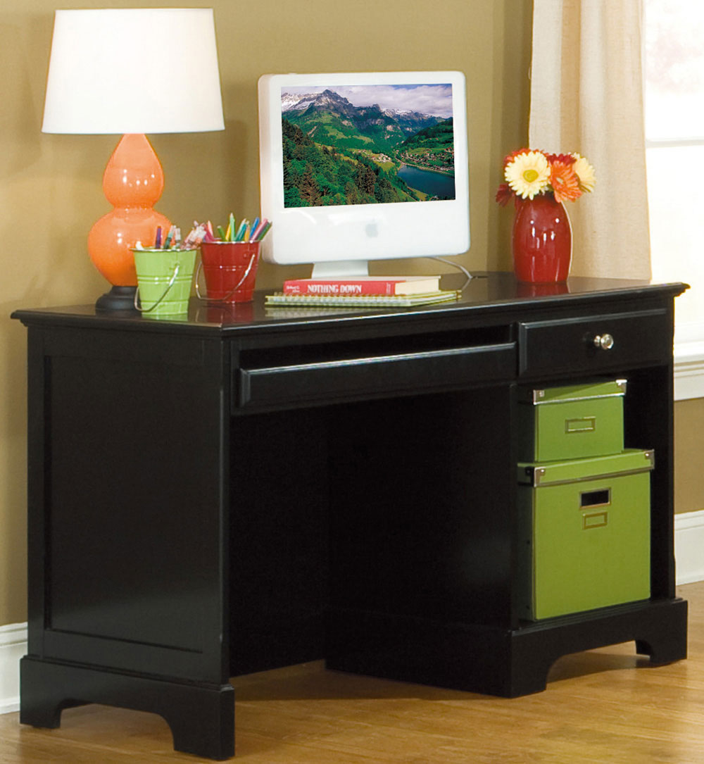 Homelegance Morelle Writing Desk - Black