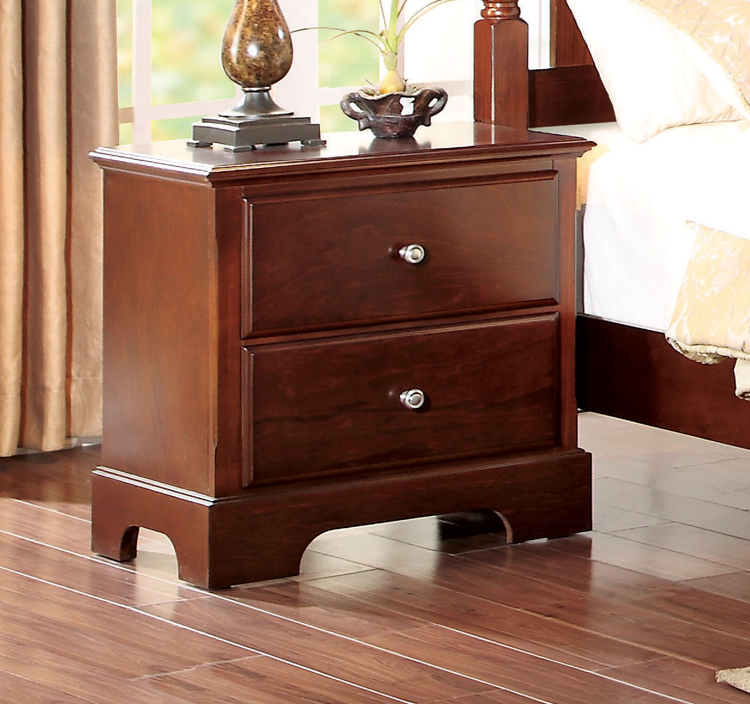 Homelegance Morelle Night Stand - Cherry