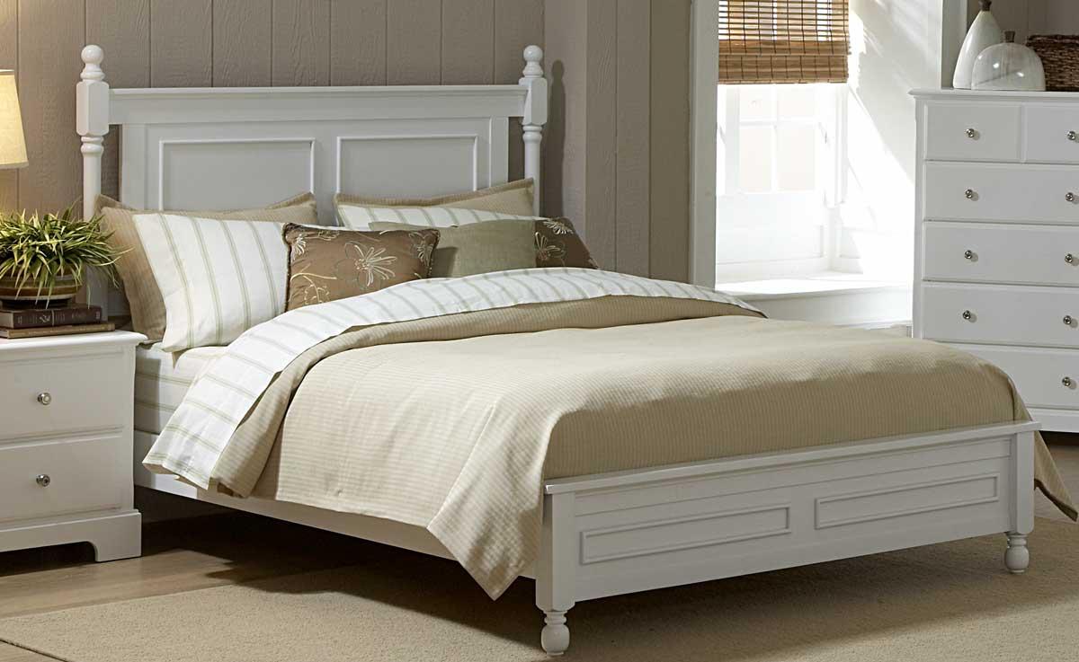 Homelegance Morelle Bed - White