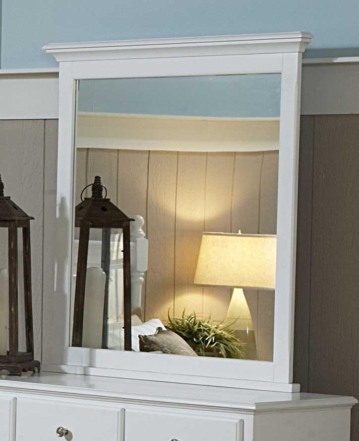 Homelegance Morelle Mirror - White