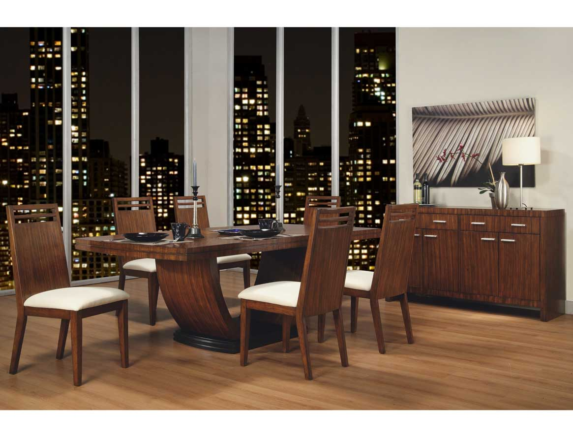 Homelegance Zebrano Dining Collection Special