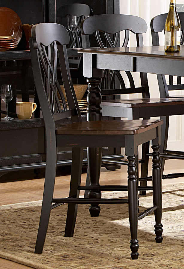 Homelegance Ohana Counter Height Chair - Black