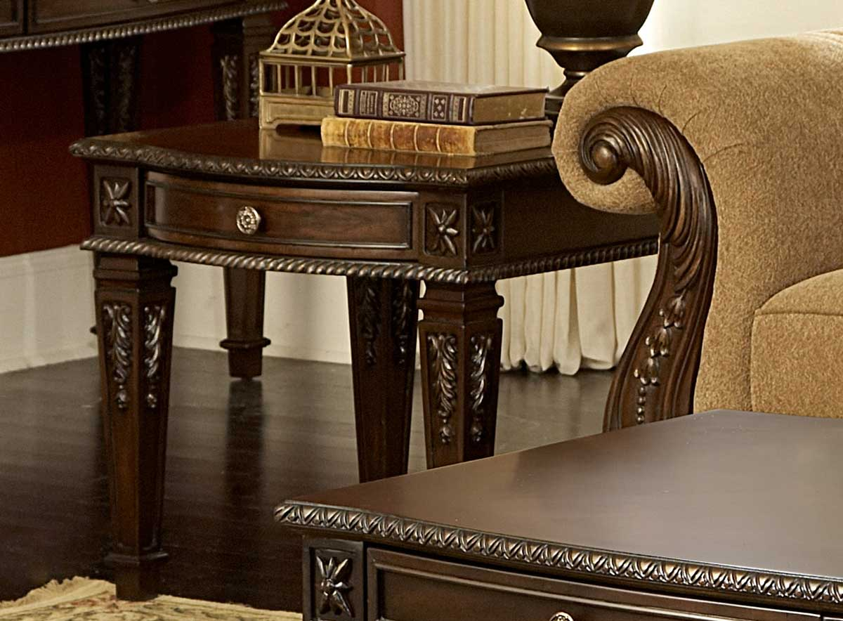 Homelegance Palace End Table