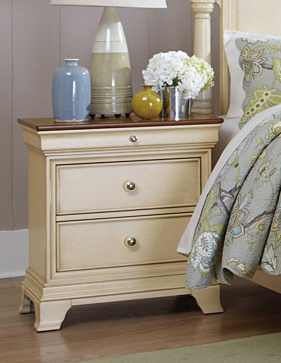 Homelegance Inglewood II Night Stand - White Finish