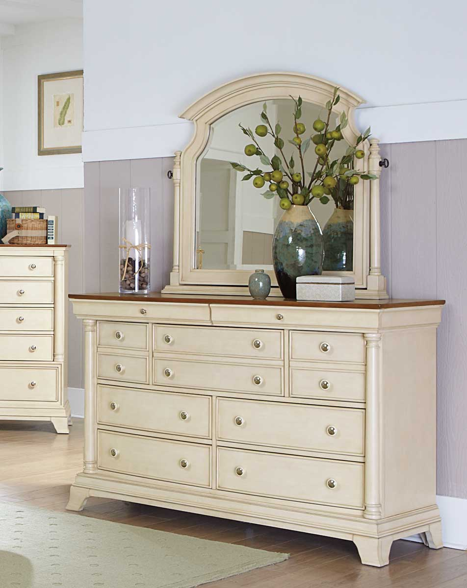 Homelegance Inglewood II Dresser - White Finish