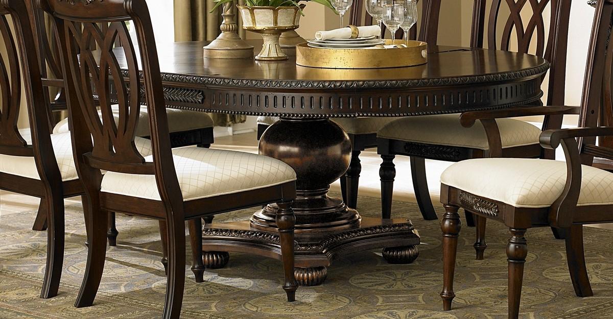 Homelegance Centinella Pedestal Dining Table