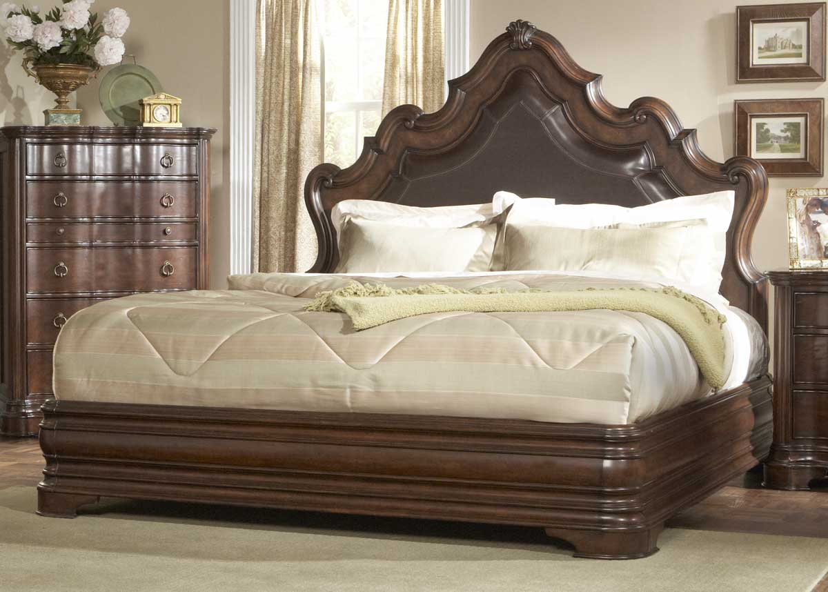 Homelegance Perry Hall Bed - Bonded Leather