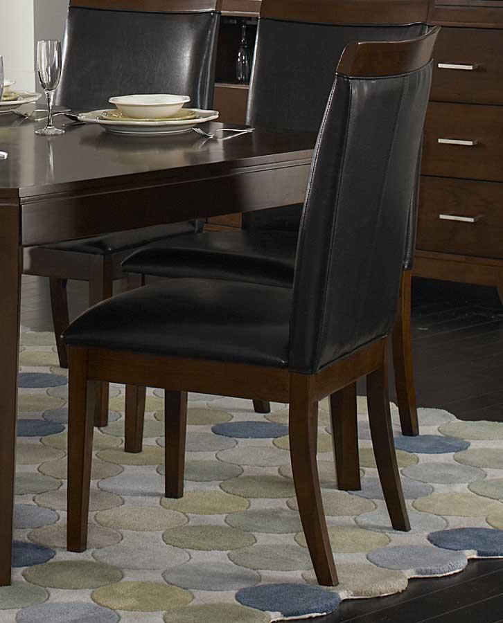 Homelegance Elmhurst S1 Side Chair - Dark Brown