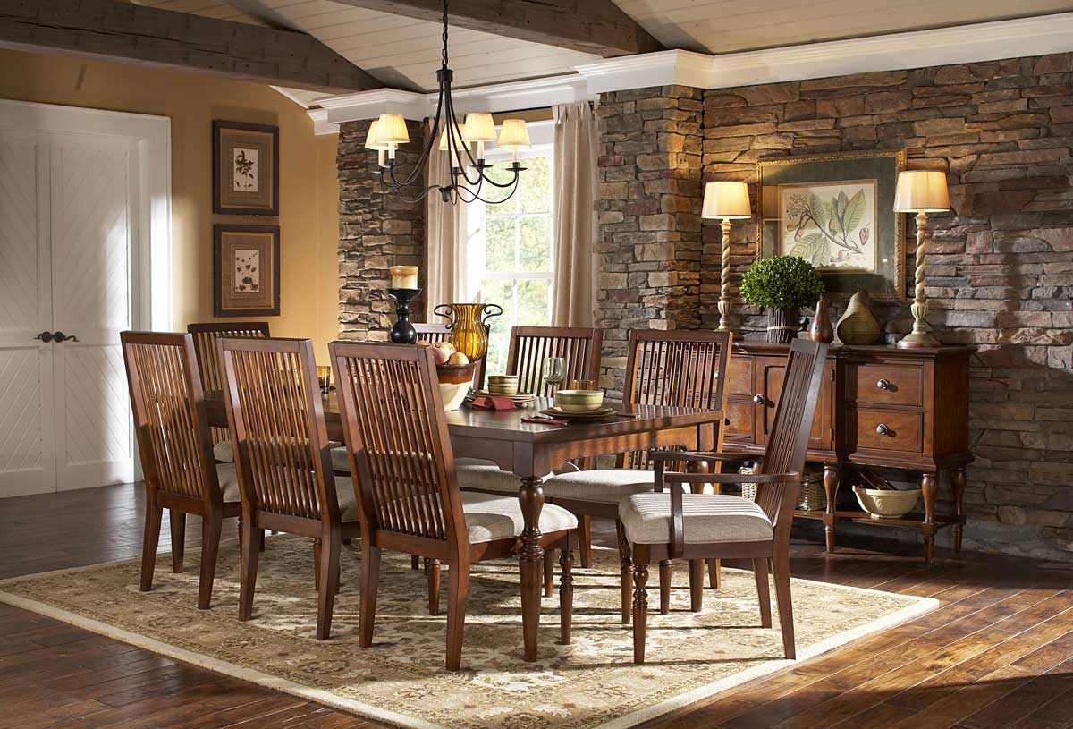 Homelegance Mission Bend Dining Set
