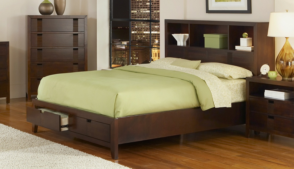 Homelegance Bridgewater Platform Storage Bed