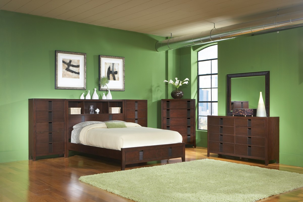Homelegance Bridgewater Platform Wall Bedroom Set