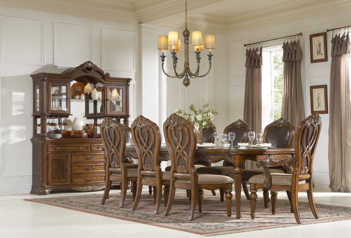 Homelegance Golden Eagle Dining Set