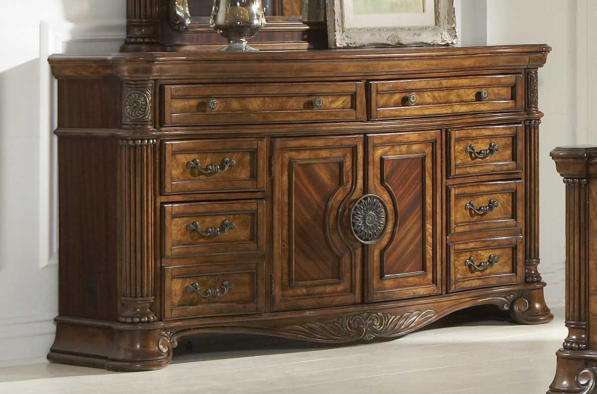Homelegance Golden Eagle Dresser