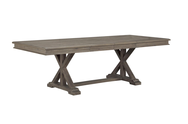 Homelegance Cardano Rectangular Dining Table - Driftwood Light Brown