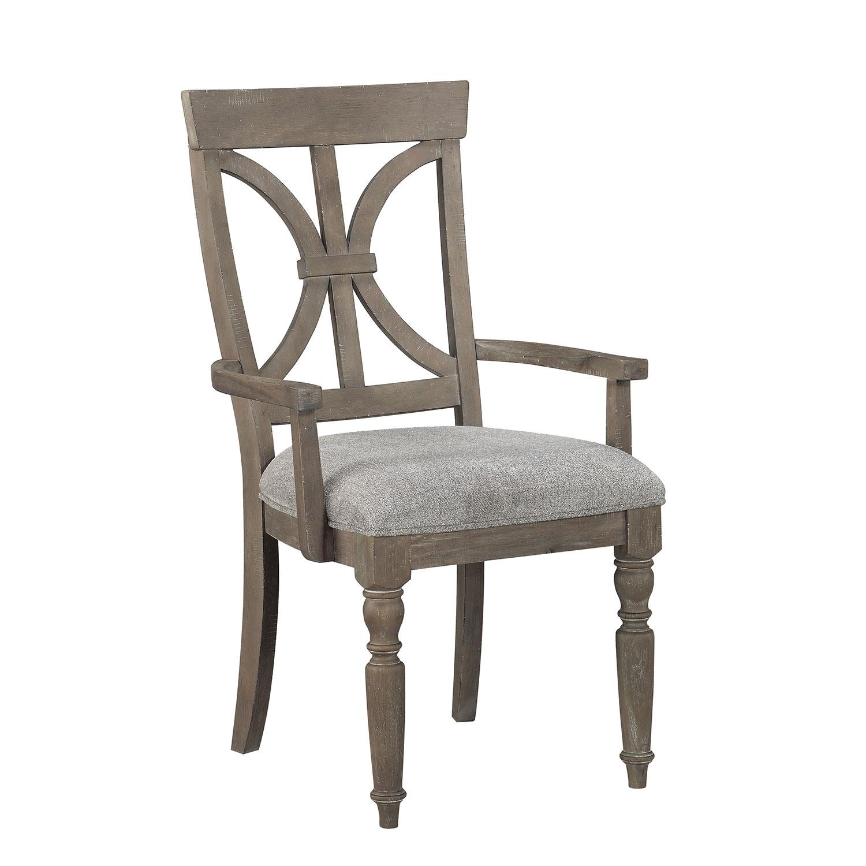 Homelegance Cardano Arm Chair - Driftwood Light Brown