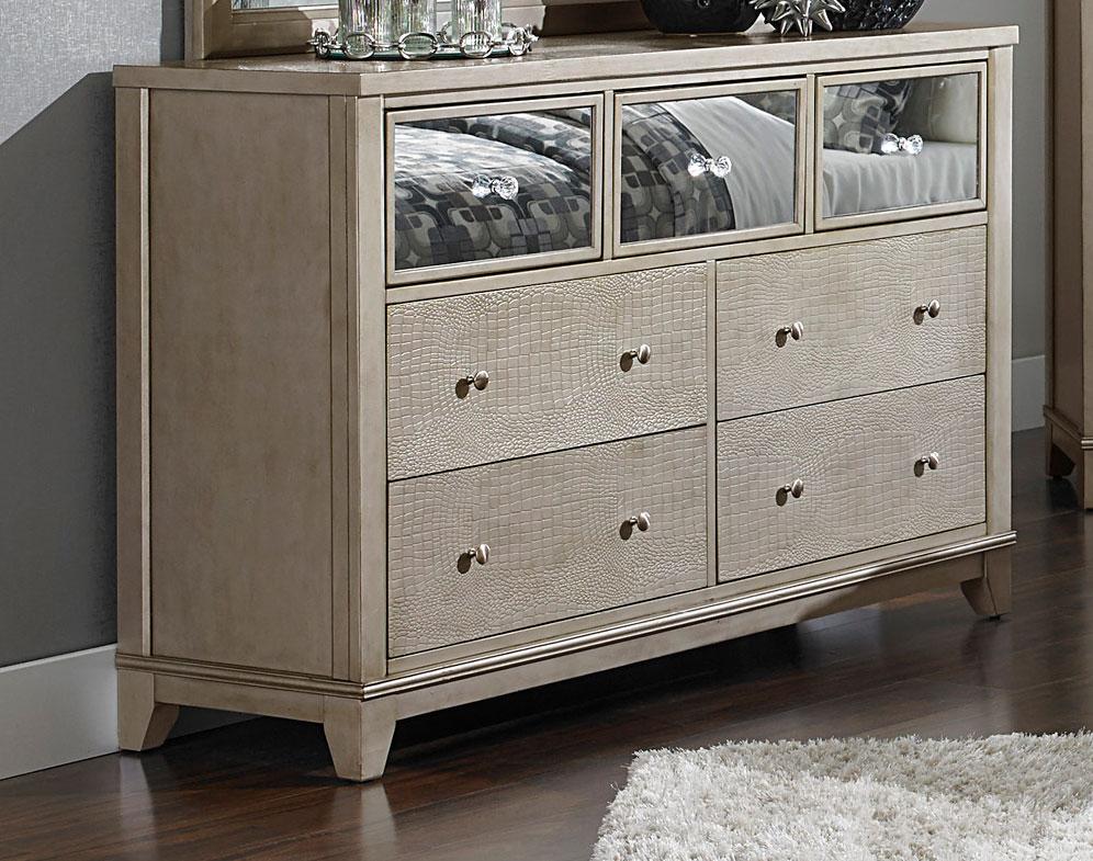 Homelegance Odelia Dresser - Silver