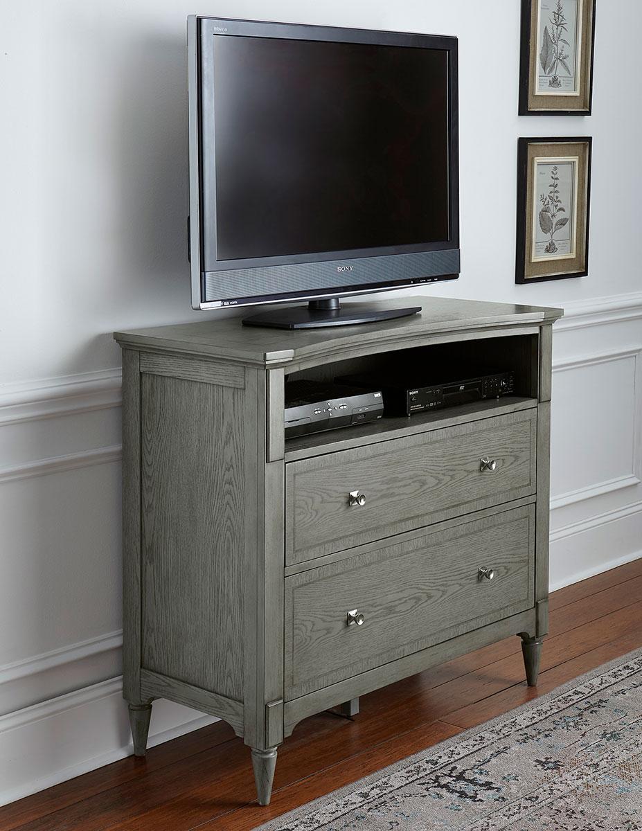 Homelegance Albright Tv Chest Barnwood Grey 1717 11 At