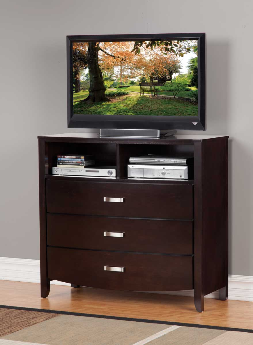 Homelegance Lyric TV Chest - Dark Espresso