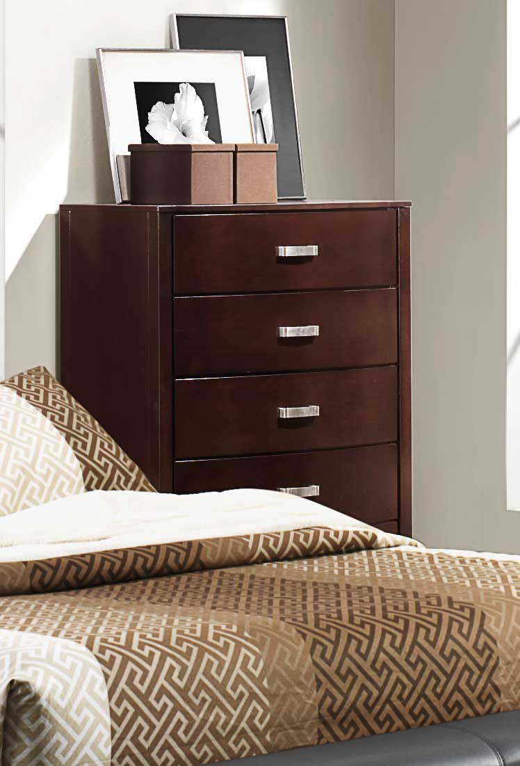 Homelegance Lyric Chest - Dark Espresso