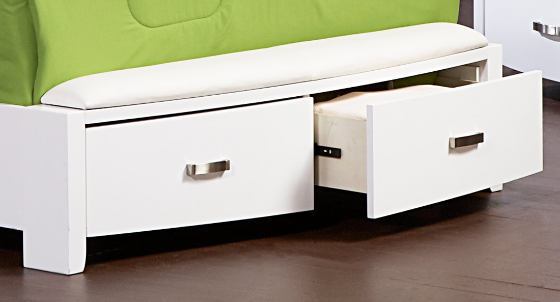 Homelegance Lyric Platform Bed with Storage