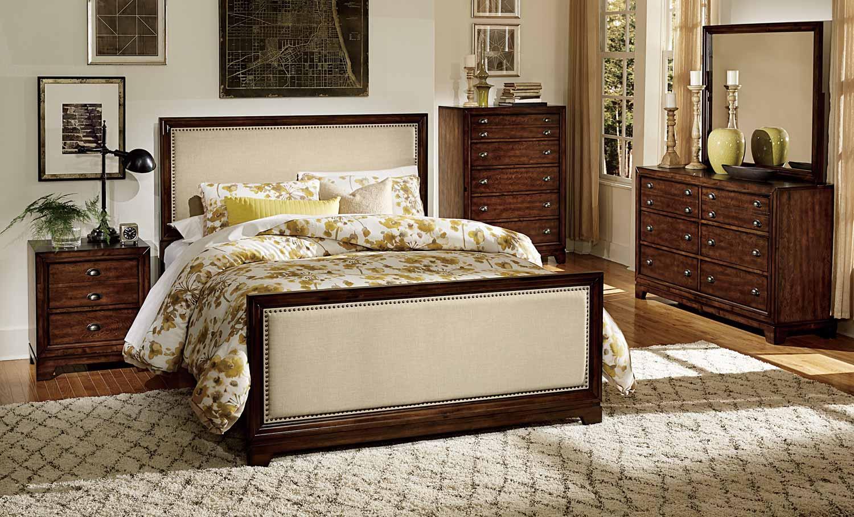 Homelegance Bernal Heights Bedroom Set - Dark Walnut