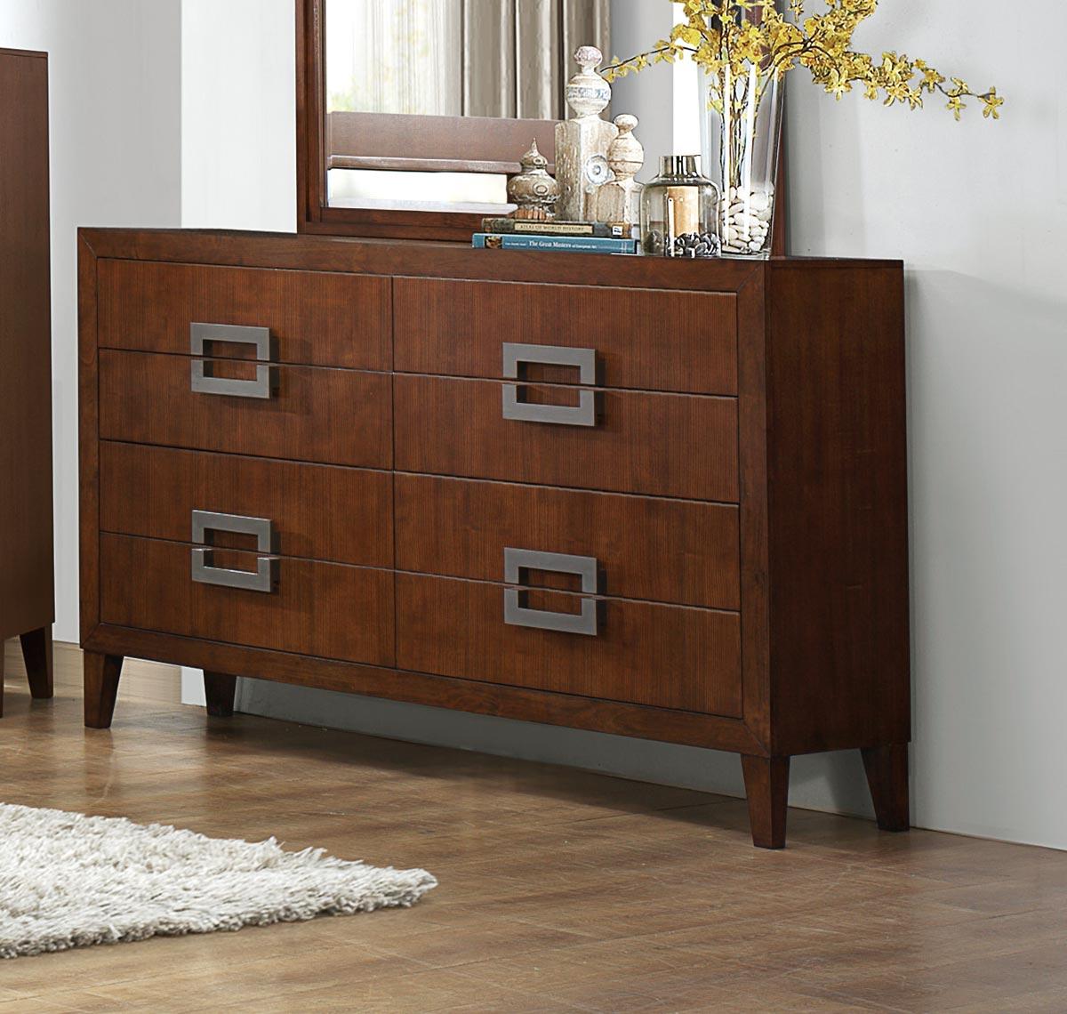 Homelegance Arata Dresser - Cappucino Brown