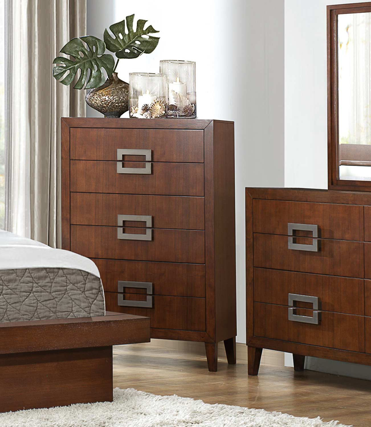 Homelegance Arata Chest - Cappucino Brown