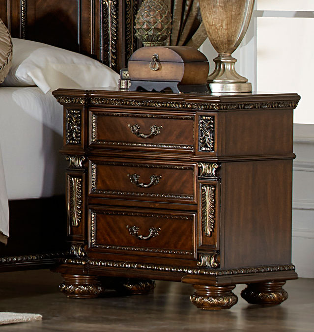 Homelegance Catalonia Night Stand - Cherry
