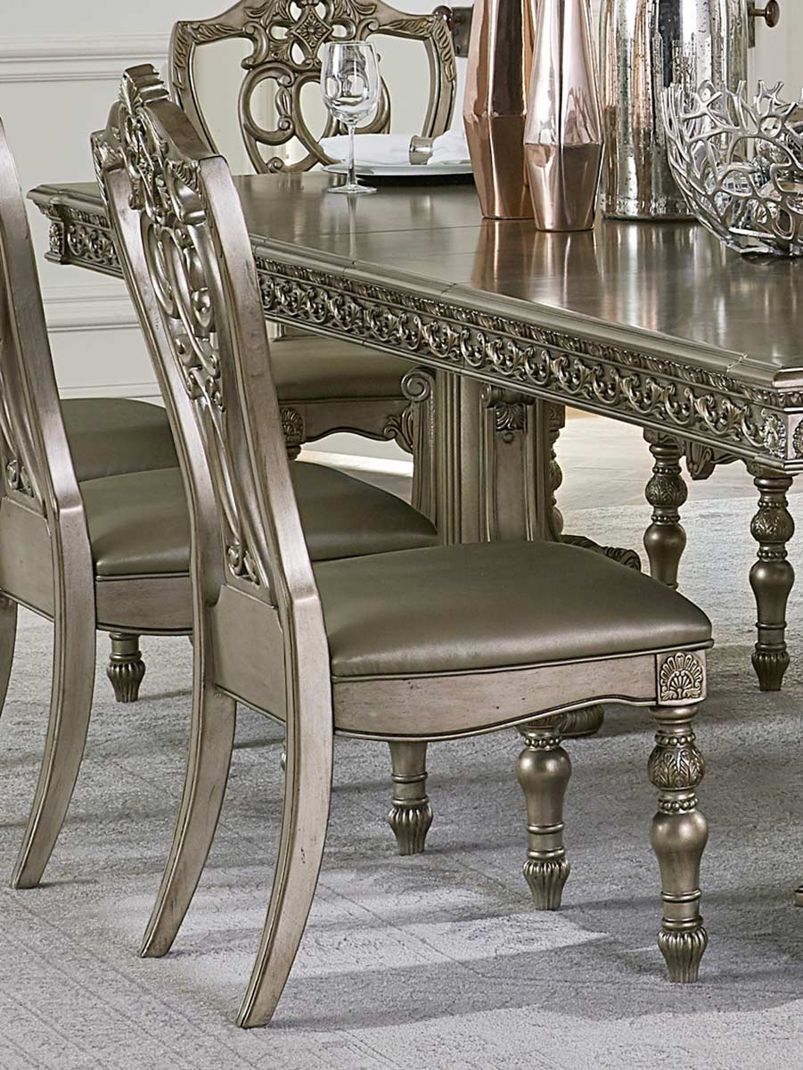 Homelegance Catalonia Side Chair - Platinum Gold