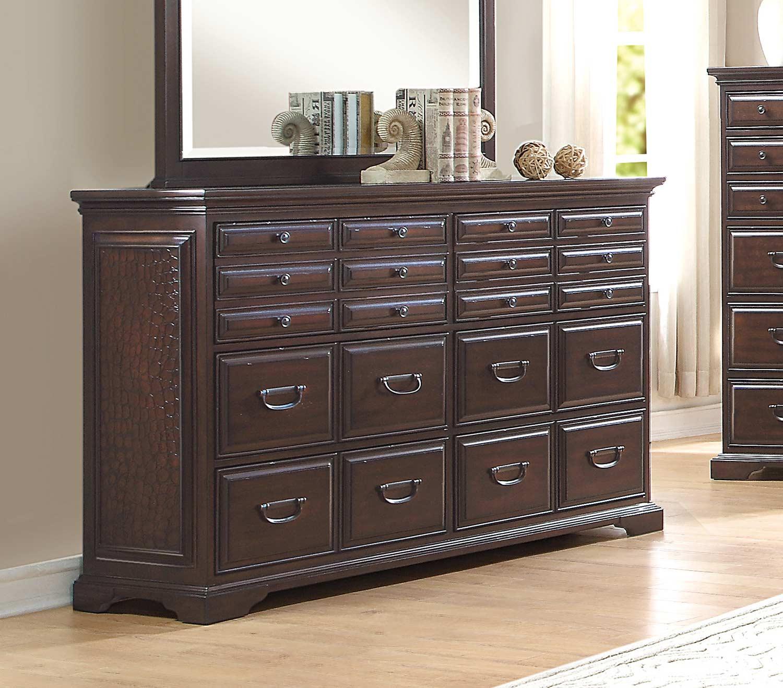 Homelegance Cranfills Dresser - Cherry