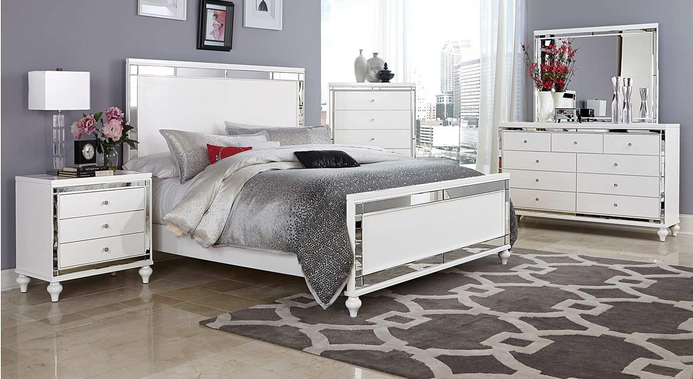 Homelegance Alonza Bedroom Set - White