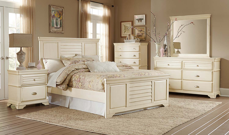 Homelegance Laurinda Bedroom Set - Antique White