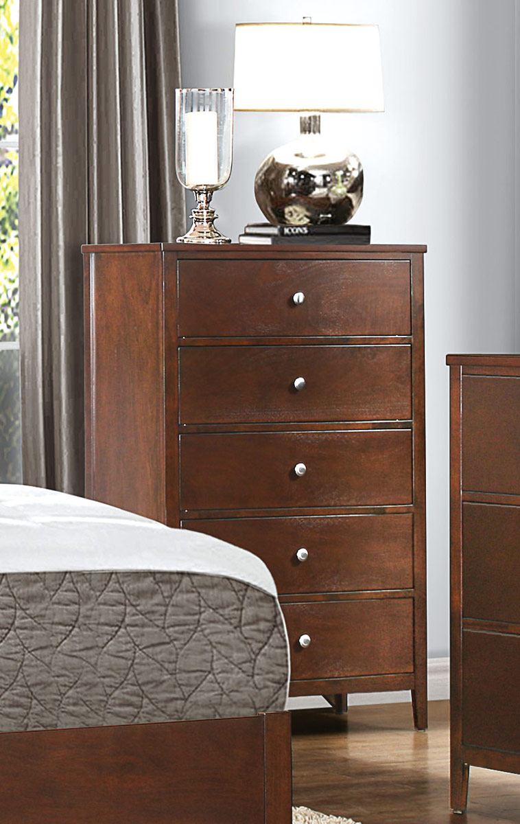 Homelegance Cullen Chest - Brown Cherry