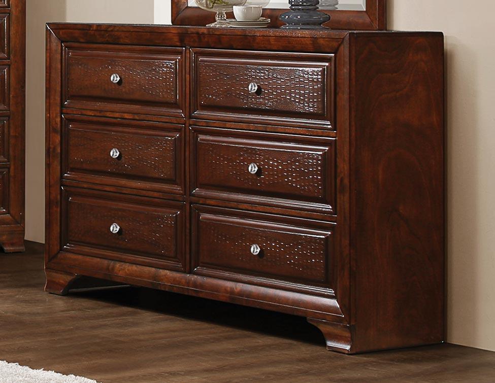 Homelegance Owens Dresser - Warm Cherry