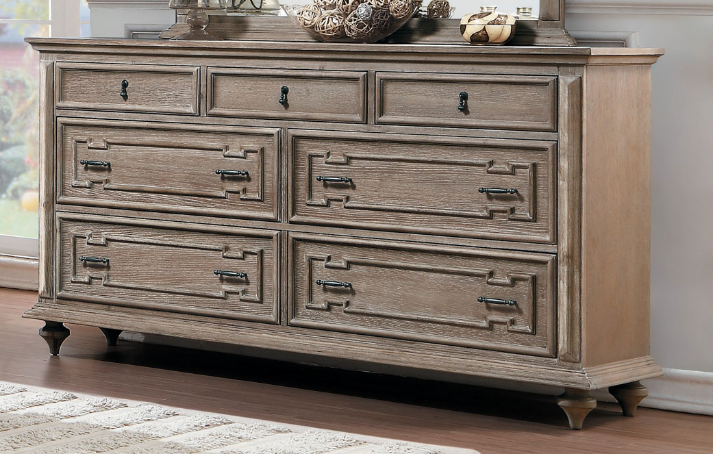 Homelegance Marceline Dresser - Weathered