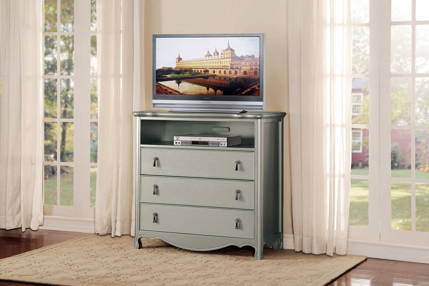 Homelegance Toulouse TV Chest - Champagne