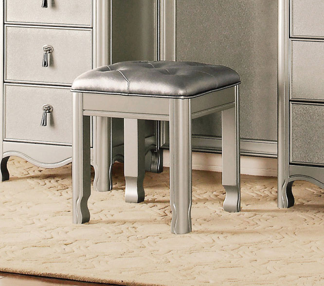 Homelegance Toulouse Vanity Stool - Champagne