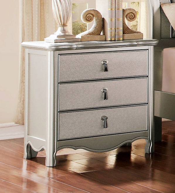Homelegance Toulouse Night Stand - Champagne
