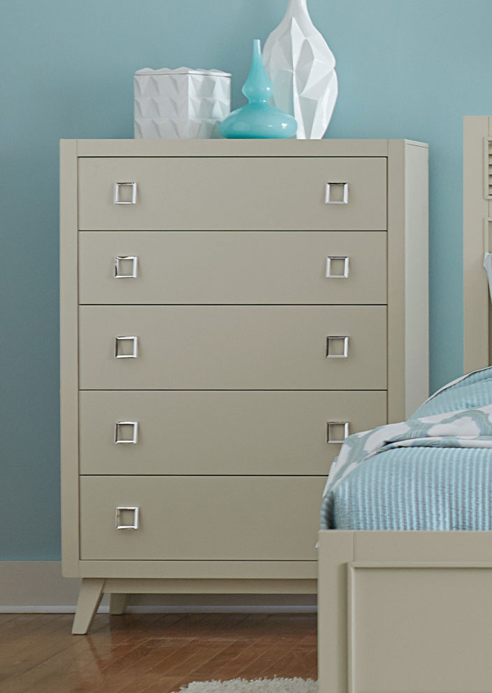 Homelegance Valpico Chest - Cool Grey/Olive Undertone